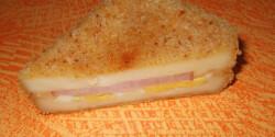 Rántott sajt töltve