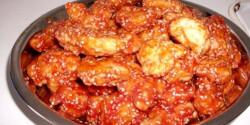 Kínai szezámmagos-ketchupos csirkemell
