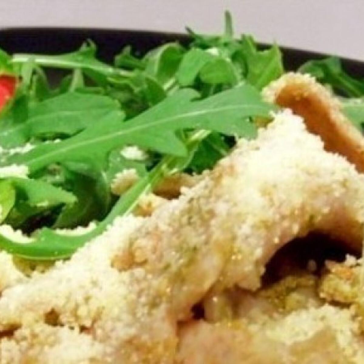 Ezen a képen: Pesto-s pasta