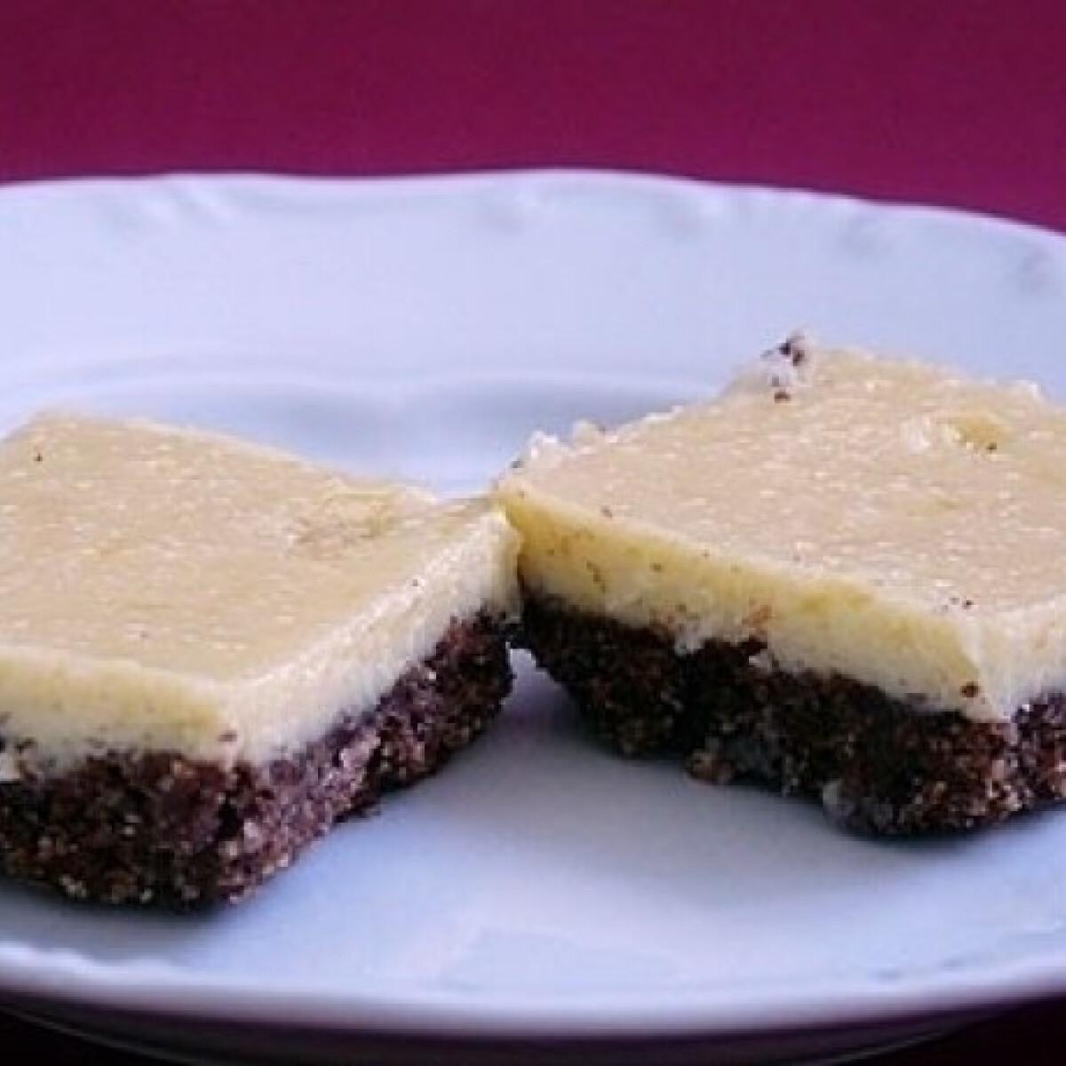 Ezen a képen: Citromos tejszelet ropogós kekszkéreggel