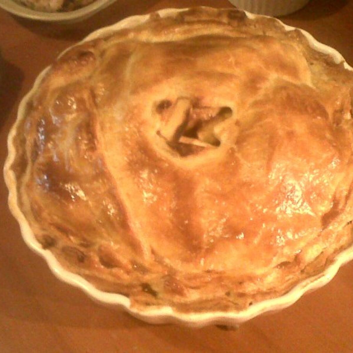 Ezen a képen: Almás pite Nonika konyhájából
