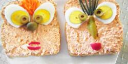 Mókás körözöttes szendvics
