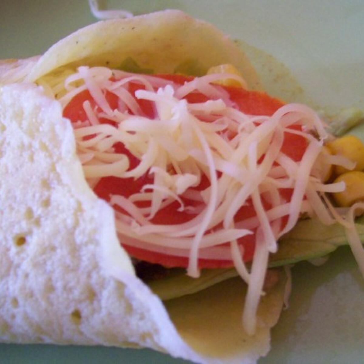 Ezen a képen: Palacsintasütőben süthető tortilla lap