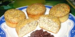 Mézes-mákos muffin