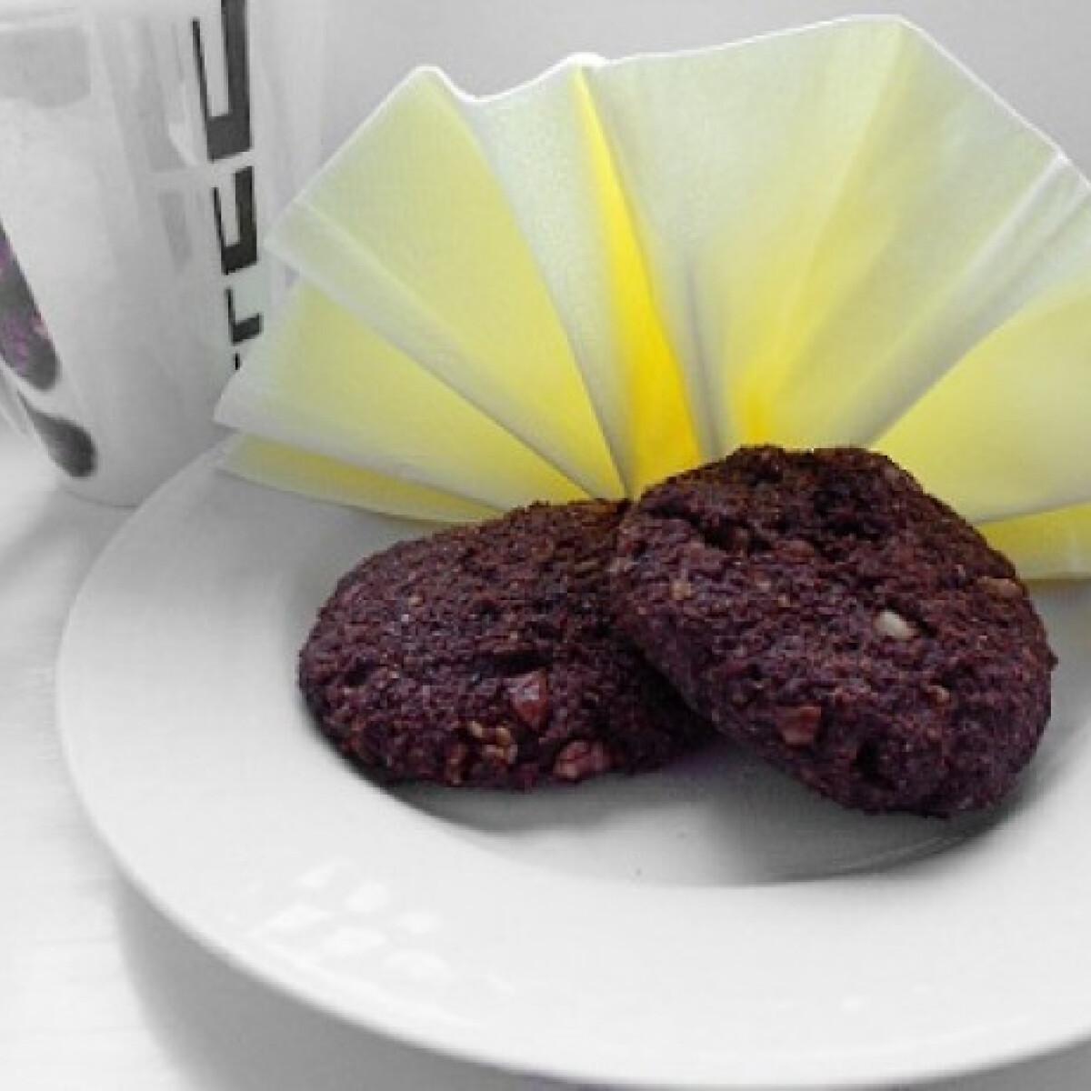 Zabpelyhes-kakaós keksz lisztmentesen