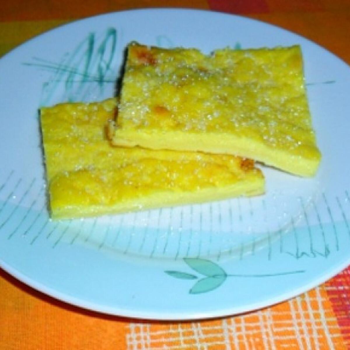 Ezen a képen: Tejes pite Ági konyhájából