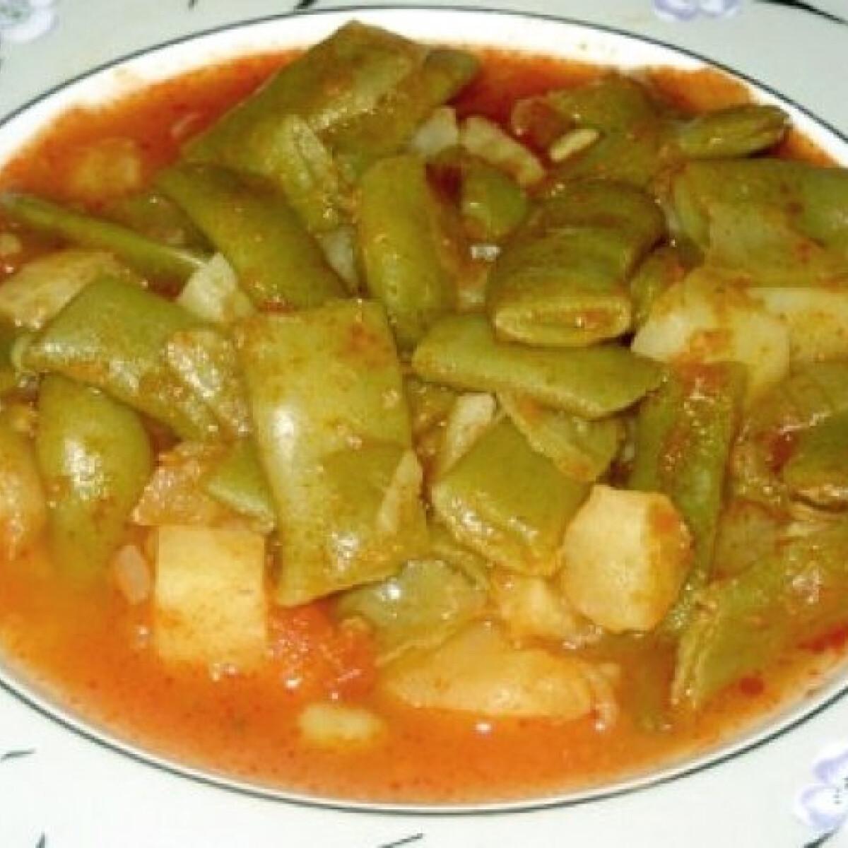 Ezen a képen: Olívás zöldbab