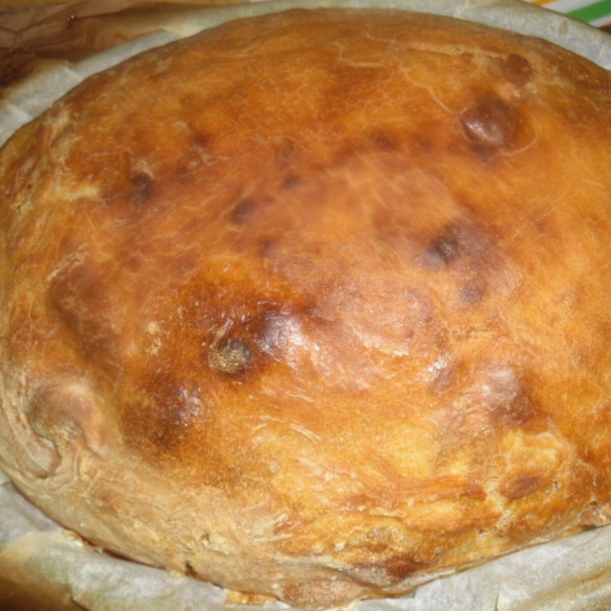 Ezen a képen: Ír kenyér dagasztás nélkül