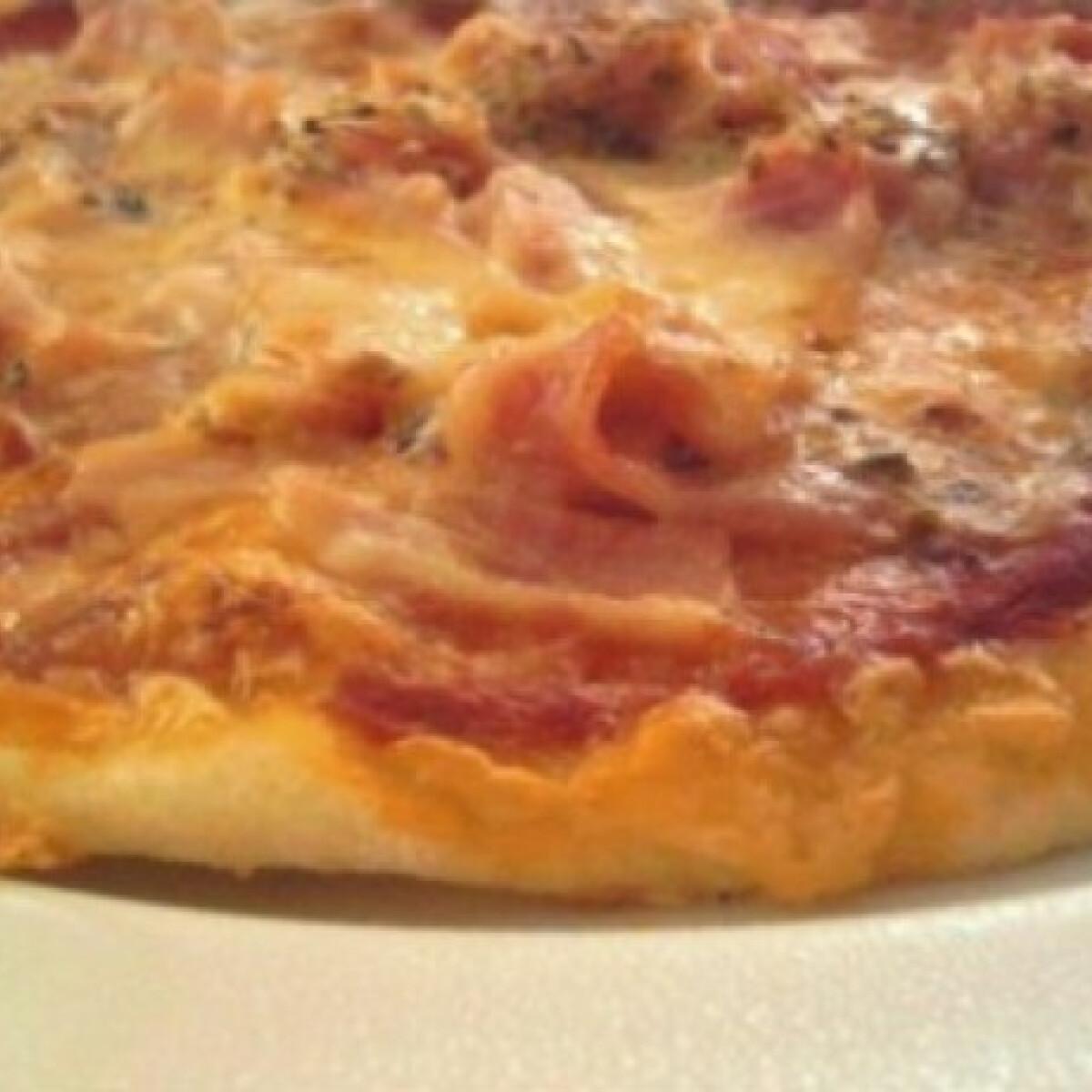 Pizza 21.-maradék krumplipüréből