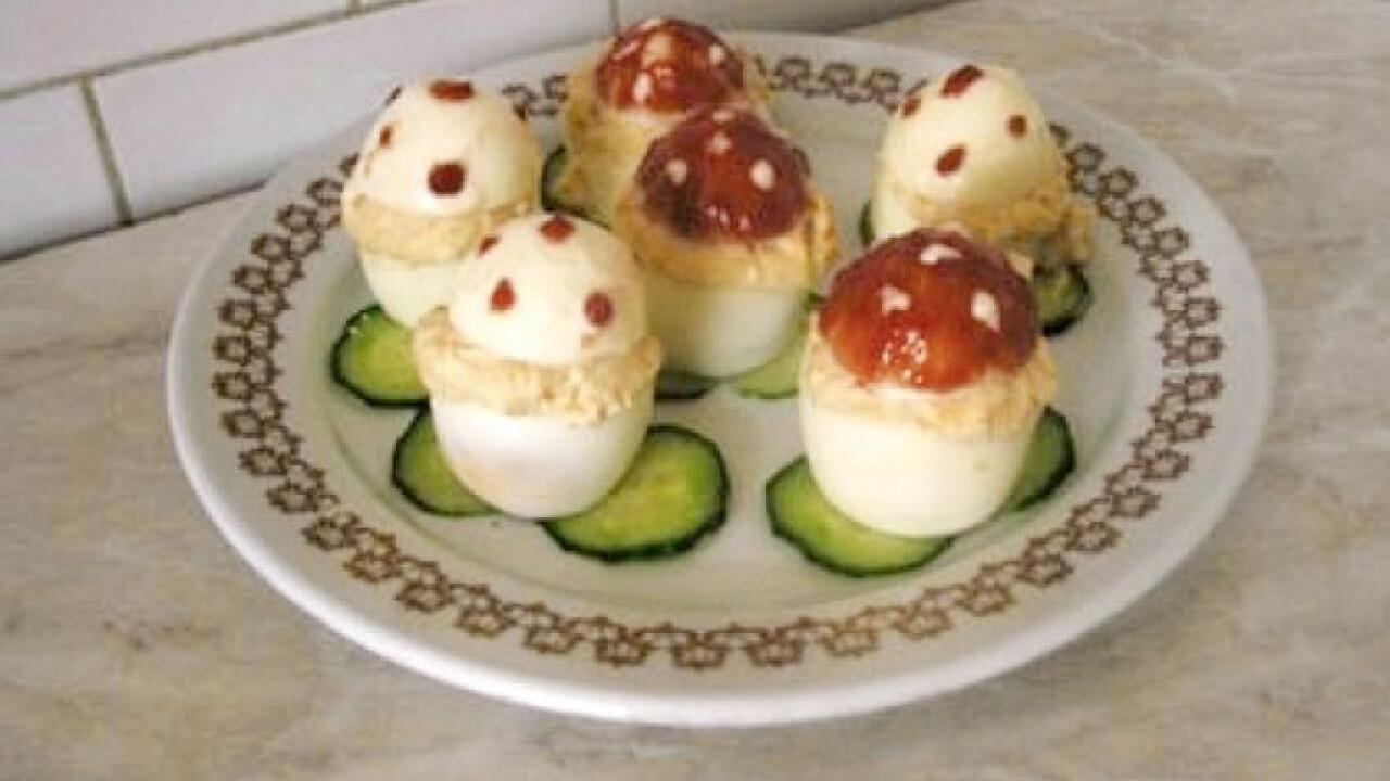 Töltött tojás Gabys konyhájából