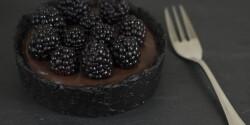 Sütés nélküli oreos csokoládétorta