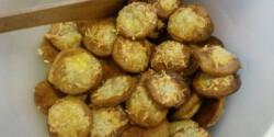 Gluténmentes diabetikus sajtos pogácsa