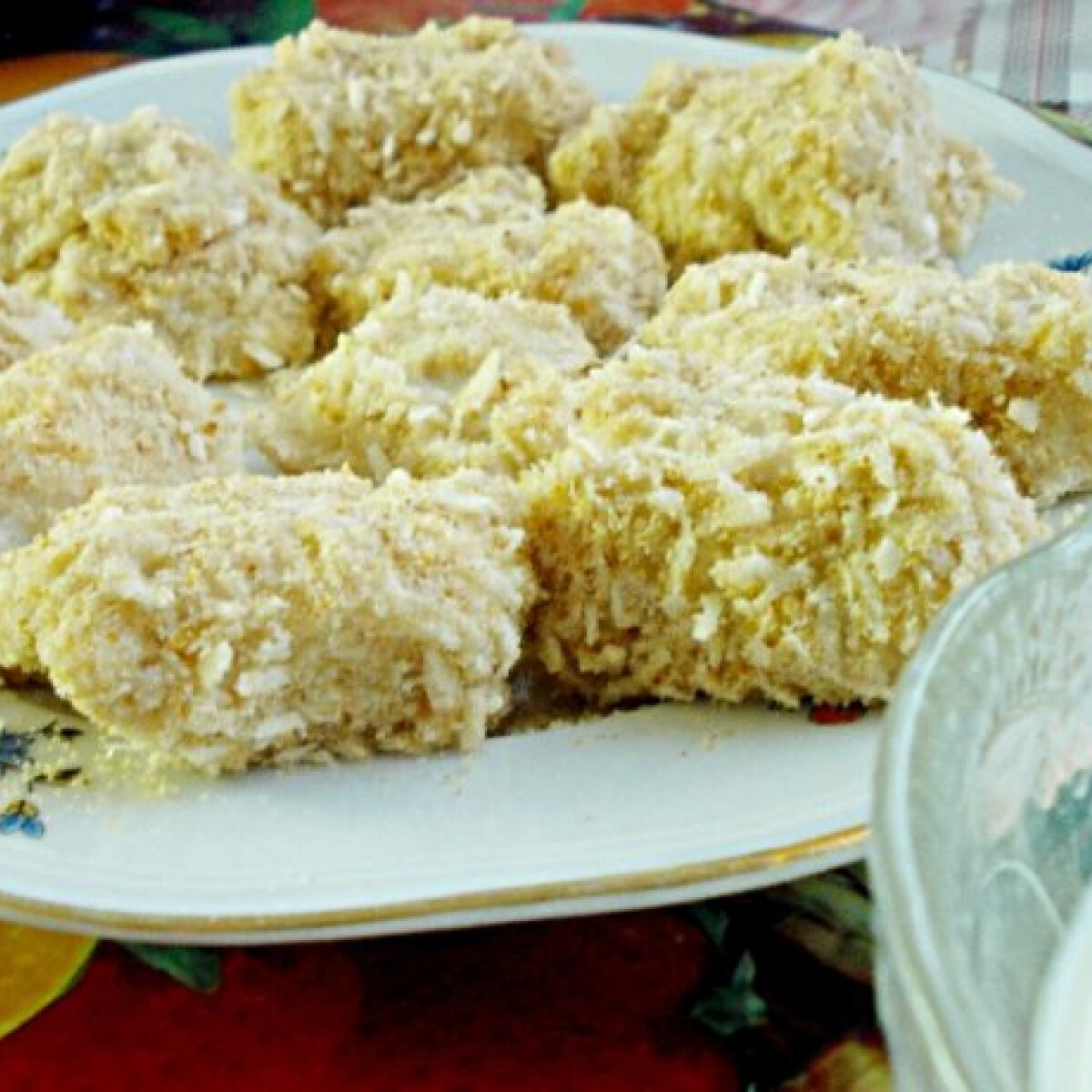 Ezen a képen: Kókuszos zabkásamorzsa diétásan