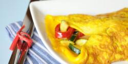 Zöldséges omlett