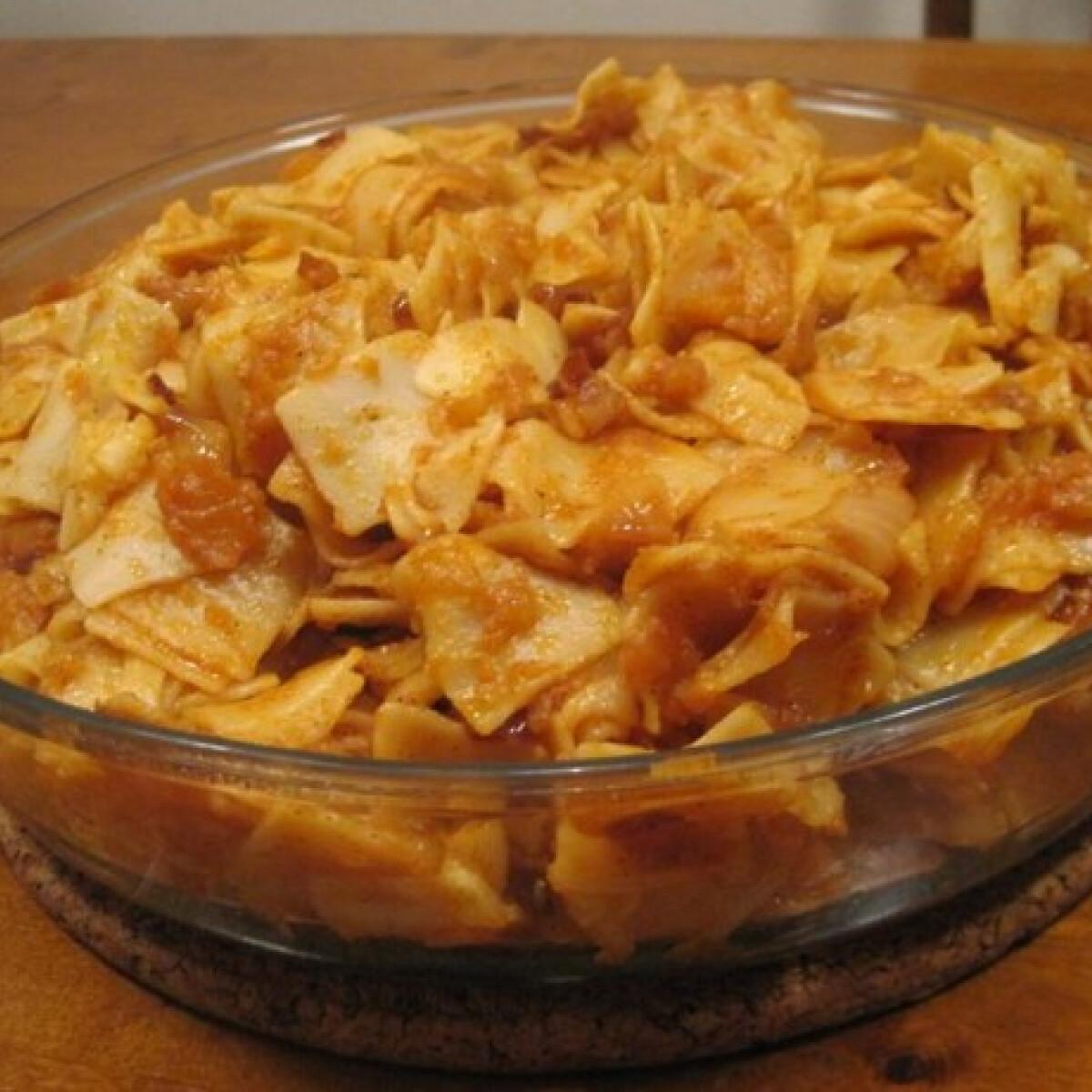 Ezen a képen: Krumplis tészta Éva házias konyhájától