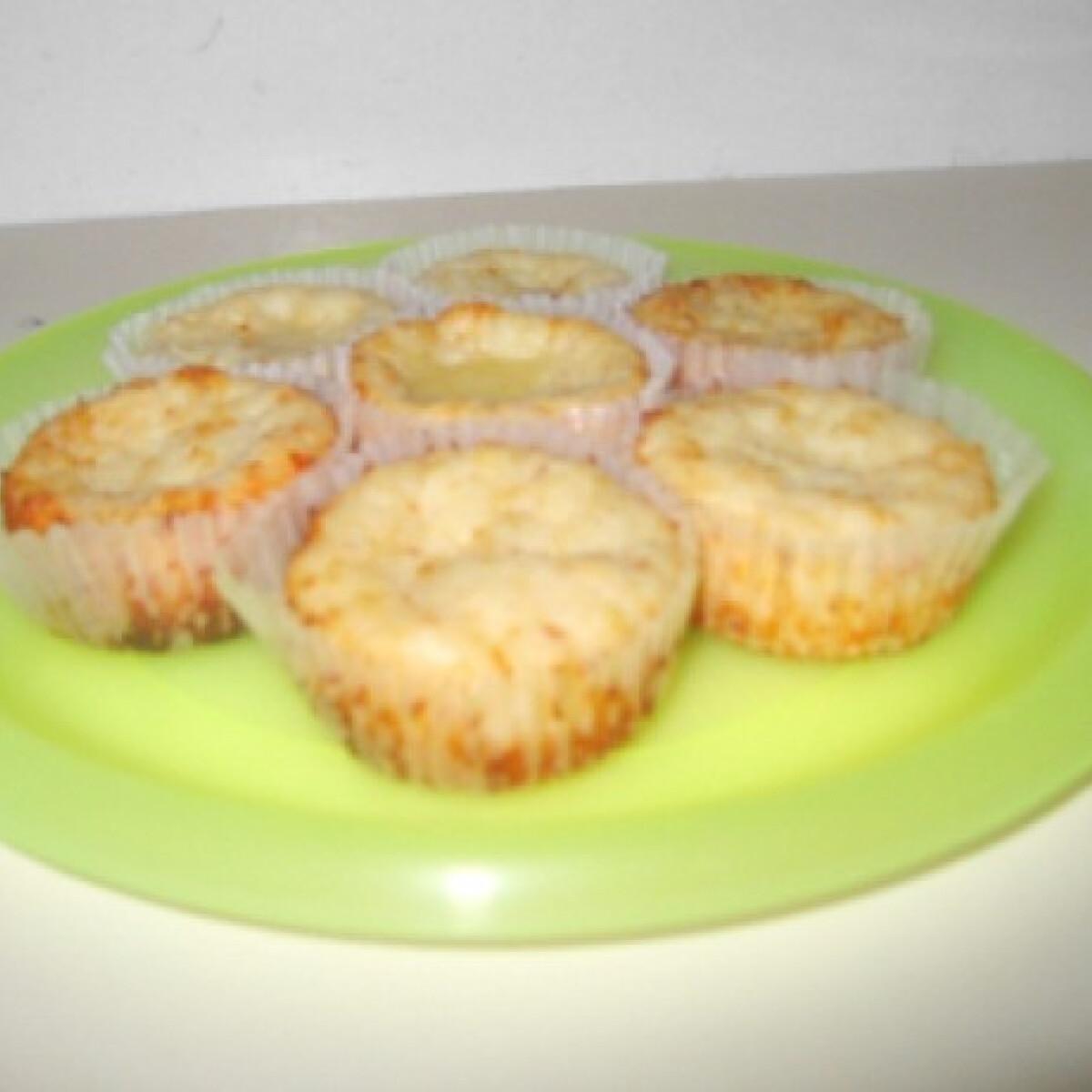 Ezen a képen: Sajtos muffin Morzsácska konyhájából