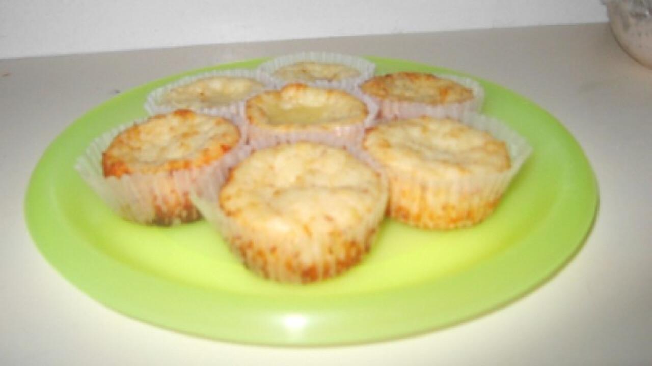Sajtos muffin Morzsácska konyhájából