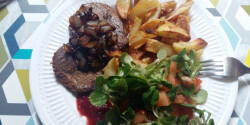 Fehérpecsenye steak