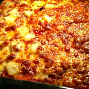 Vegyes házi pizza