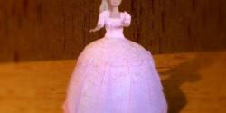 Barbie baba-torta