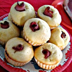 Göngyölt sonkás muffin