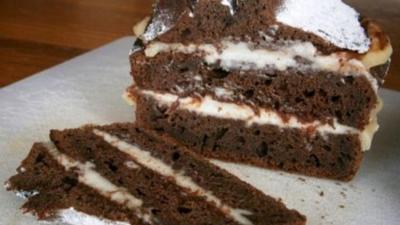 Chilis-csokoládés sütemény