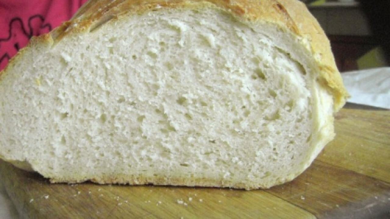 Élesztős házi fehér kenyér Szilvitől