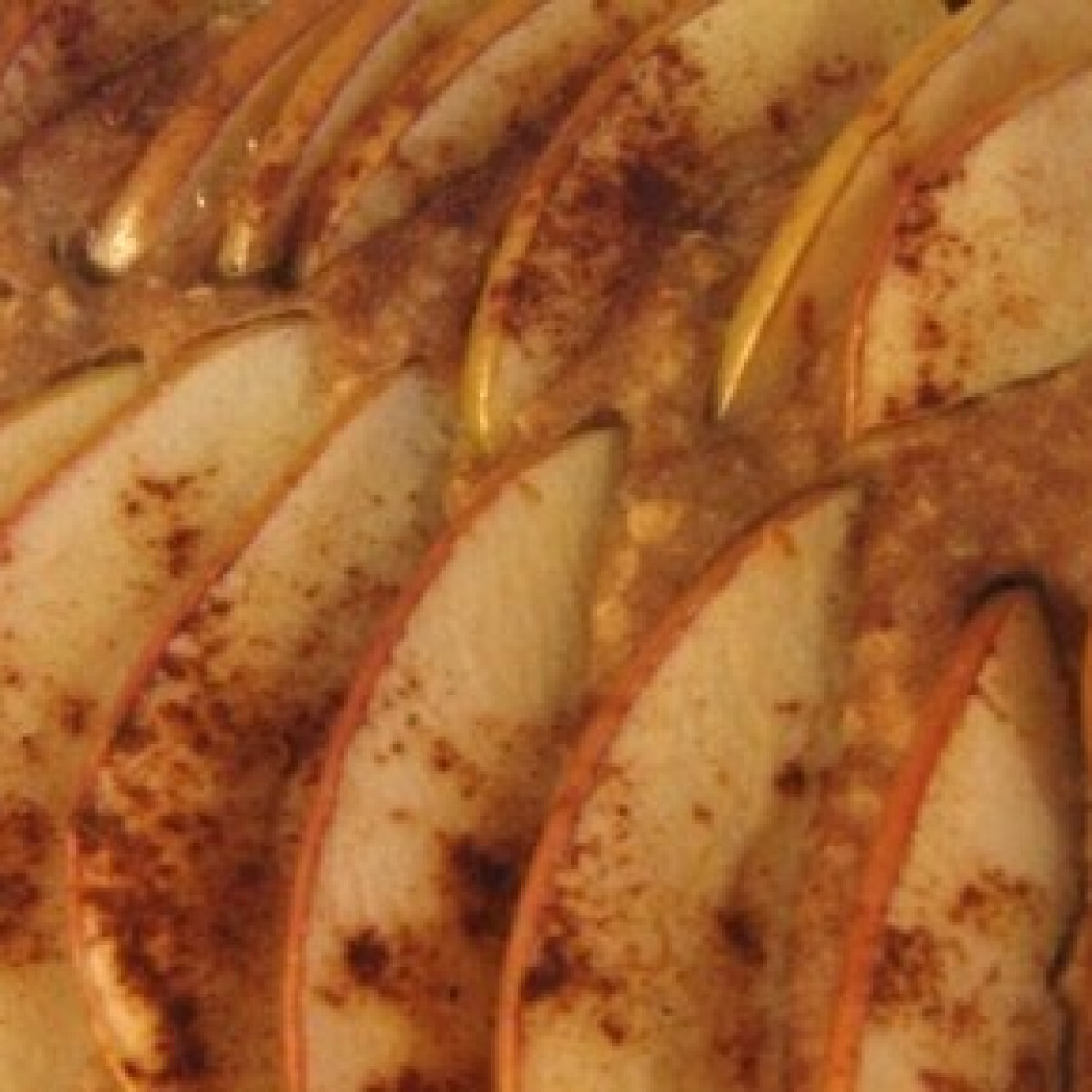 Ezen a képen: Tepsiben sült almás palacsinta 2.  -reform változat