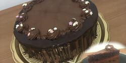 Háromszínű csokitorta