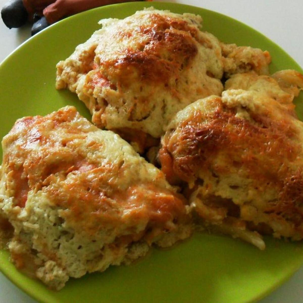 Ezen a képen: Tökmagolajos sült csirkecomb