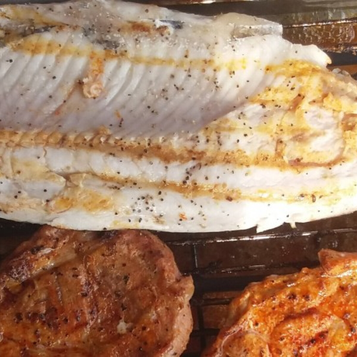 Ezen a képen: Citromborsos hal