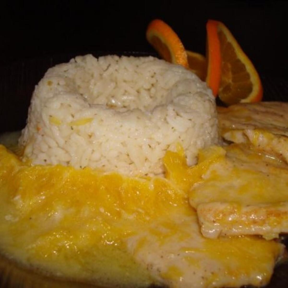 Ezen a képen: Narancsos csirkemell