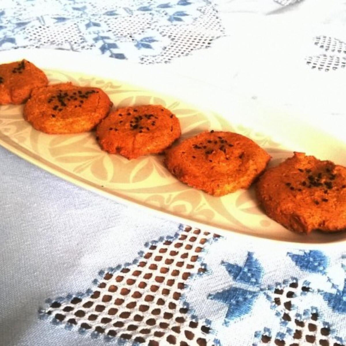Curry keksz