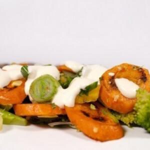 Sárgarépa-saláta 7. - grillezett