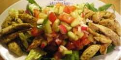 Könnyű őszi saláta