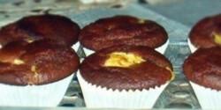 Pudinggal töltött csokimuffin -Pudingos muffin 2.