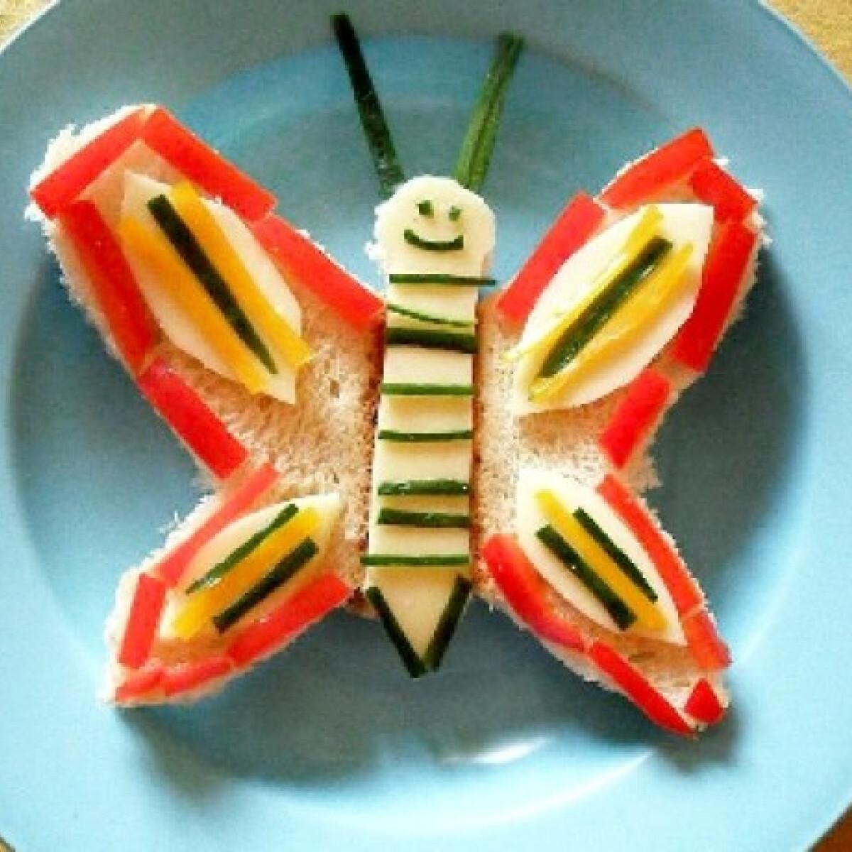 Ezen a képen: Pillangó kenyér