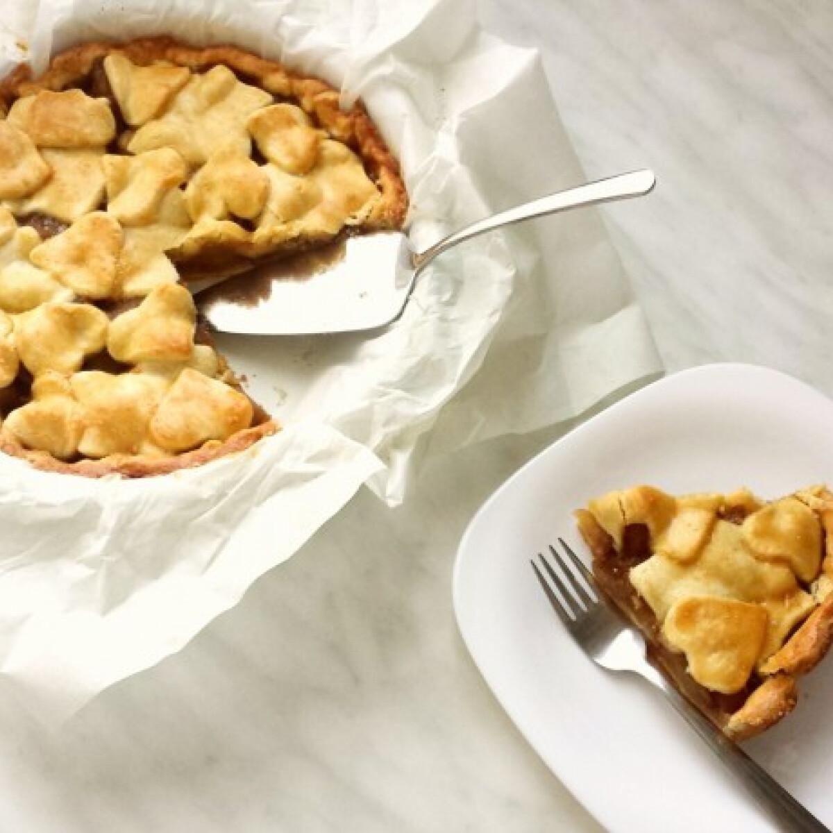 Ezen a képen: Almás pite ahogy az Uram szereti
