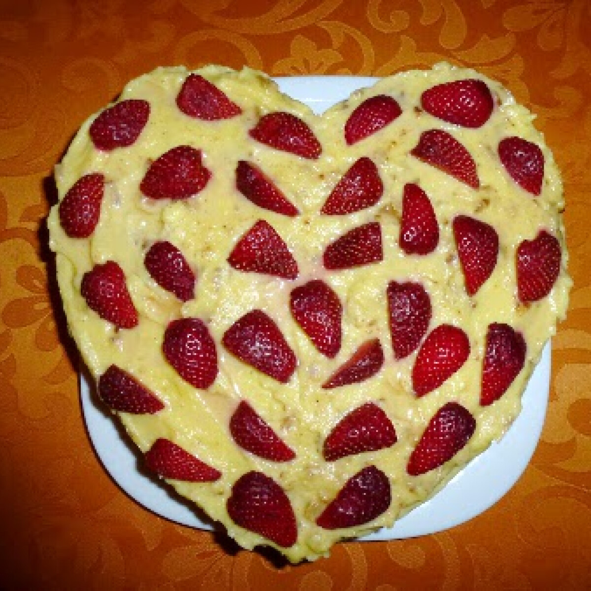 Ezen a képen: Epres-kókuszos gyümölcskrémes