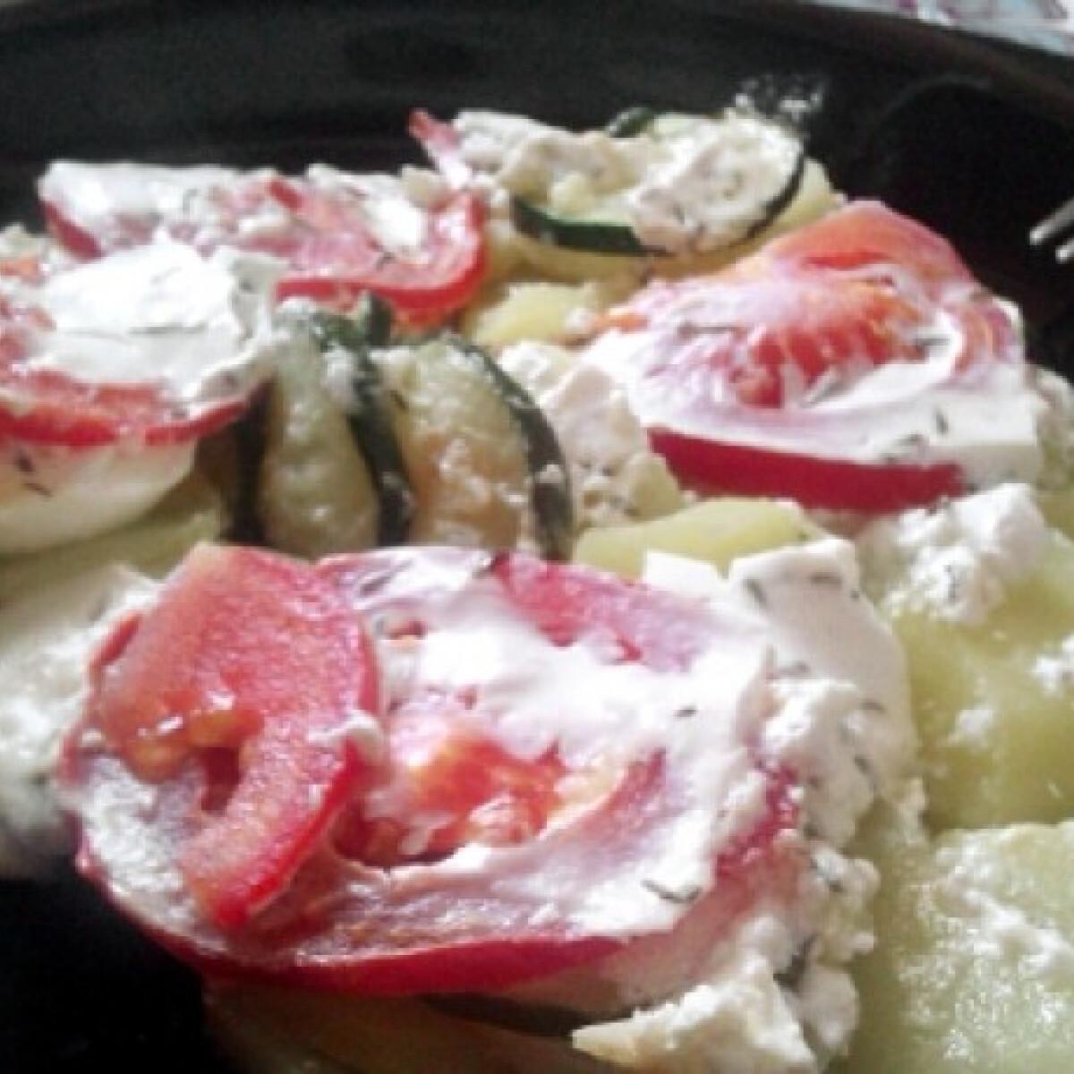Ezen a képen: Zöldséges rakott krumpli Picijencitől