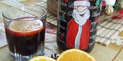 Forralt vörösbor naranccsal