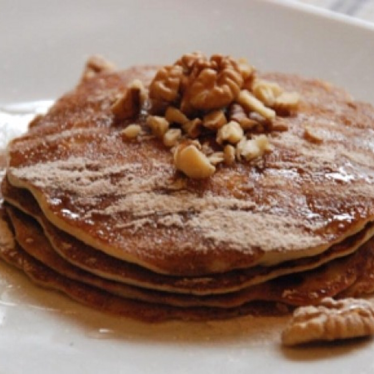 Ezen a képen: Almás pancake