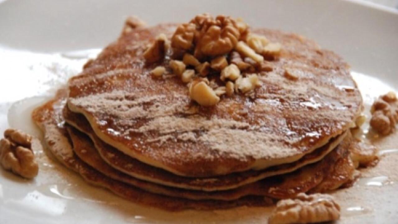 Almás pancake