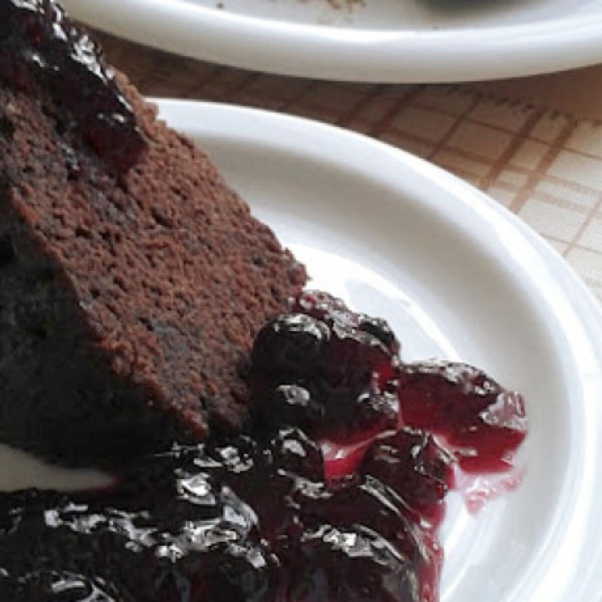 Ezen a képen: 5 perces brownie Zsuliltól