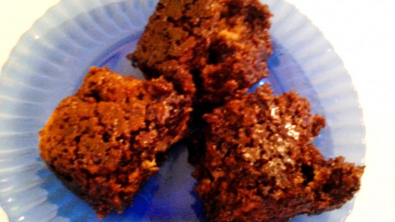 Csokiglazúros narancsos sütemény