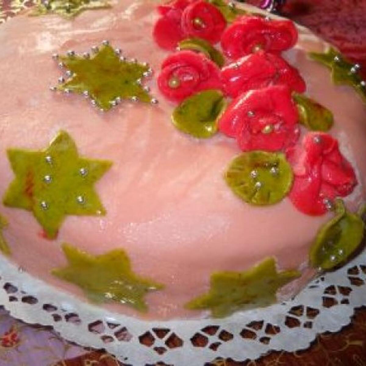 Ezen a képen: Narancsos karácsonyi torta