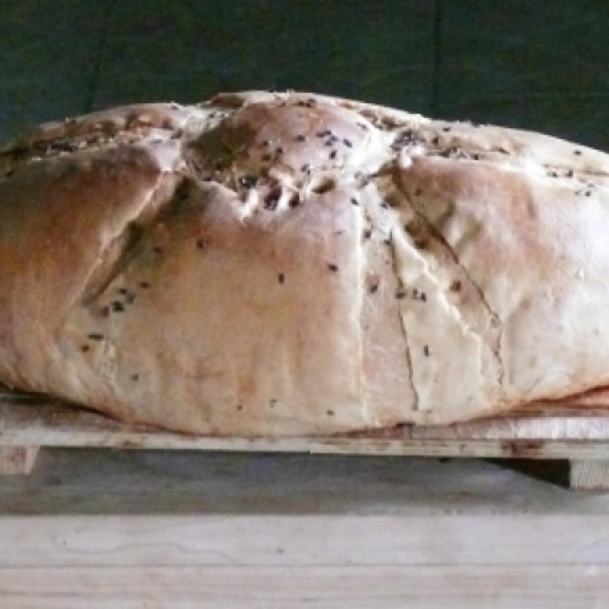 Búzacsírás fehér kenyér