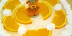 Gyors narancstorta