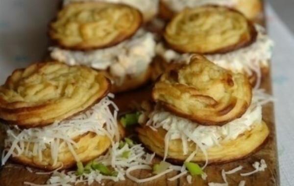Krumplikosárkák Alhambra módra