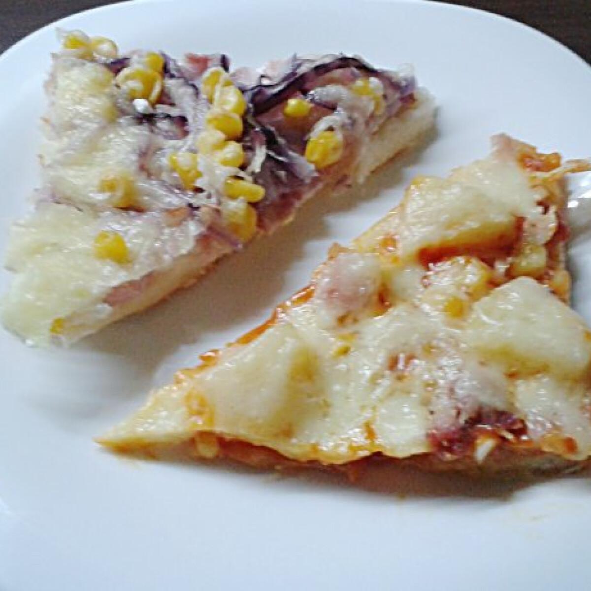 Ezen a képen: Pizza Bettyke konyhájából